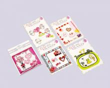 Lovely Embroidered Sticker Packs