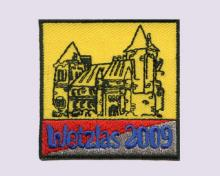 Embroidered Patches of German Town