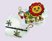 Lion Embroidered Memo Pads