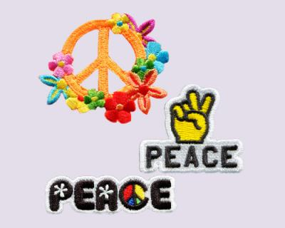 PEACE - Embroidery Sticker Pack