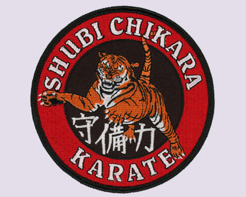 Embroidered Patch - Martial Art - Karate - Dojo