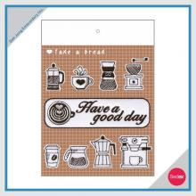 Embroidery Sticker Set - DIY Coffee