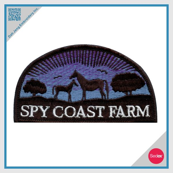 Embroidery Patch - Customized Patch - Farm Patch
