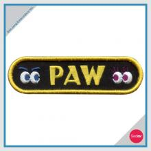 Lettering embroidery patch - PAW