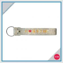 Embroidery Key Chain - I LOVE MY CAT