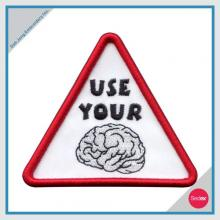 3D embroidery patch - USE YOUR BRAIN