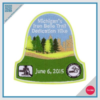 Embroidery Patch Sublimation Patch - Customized Patch