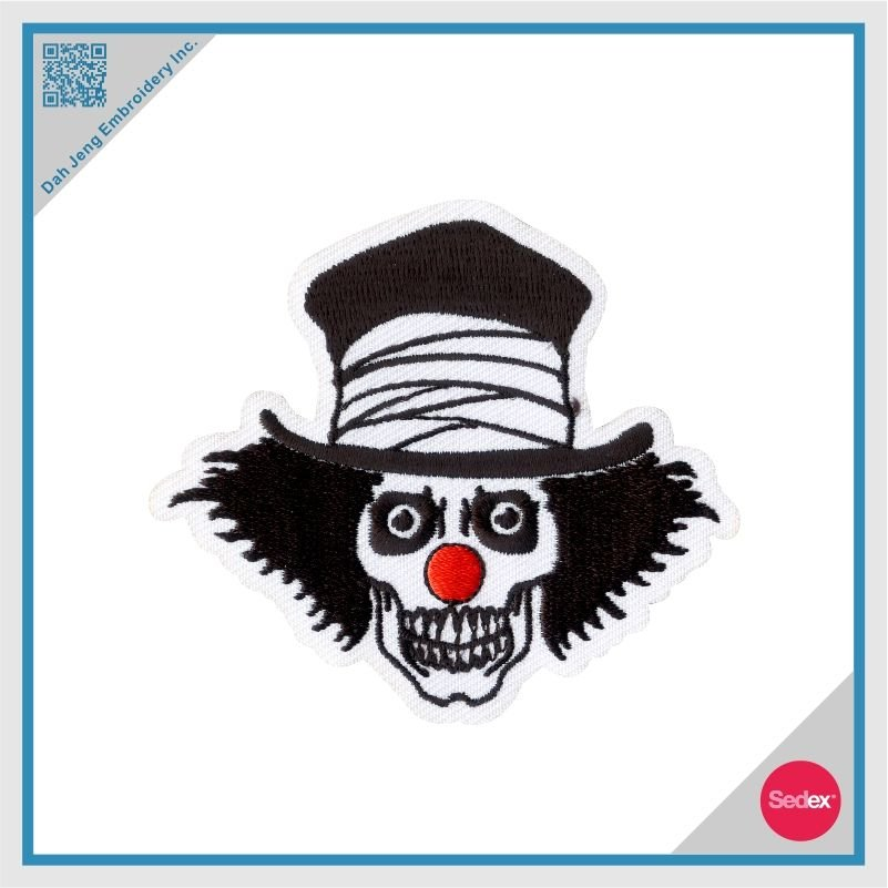 Embroidery Clown Patch