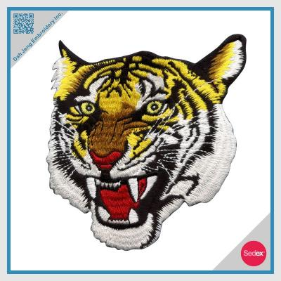 Embroidery Patch - Customized Iron on Patch- Tiger