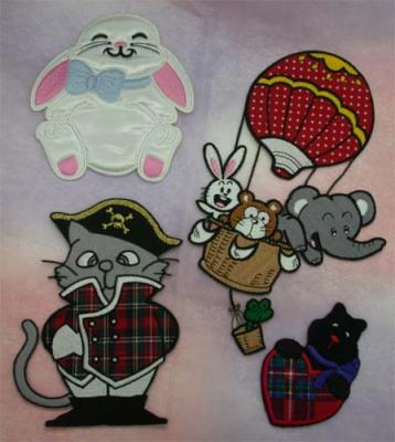 Embroidery Patches - Applique