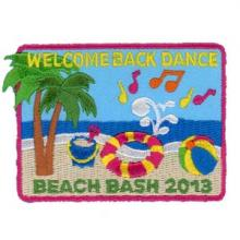 Embroidered Patch - Beach Bash