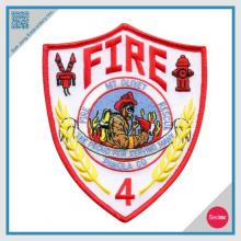 Embroidery Patch Fire Fighter Patch - Customized patch